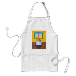 Boy and the Macaroons Adult Apron