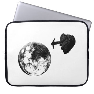 Boy and the Moon Laptop Case