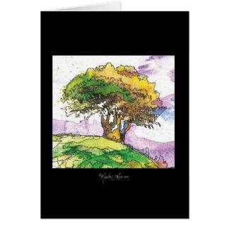 Boy and Tree Card