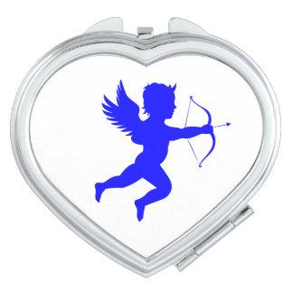 Boy Angel  Heart Compact Mirror