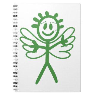 Boy Angel Spiral Notebook