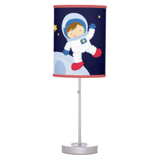 Boy Astronaut Kid's Desk Lamp