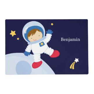 Boy Astronaut Kids Placemat