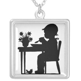 Boy At Breakfast Necklaces