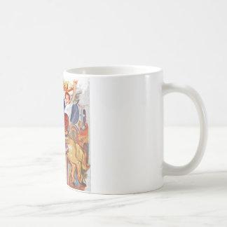 Boy at fair coffee mug