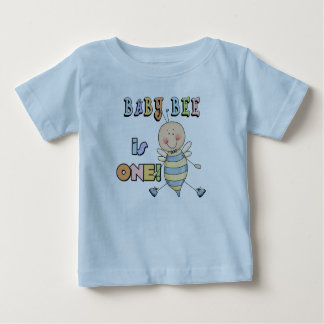 Boy Baby Bee 1st Birthday Tshirts and Gifts
