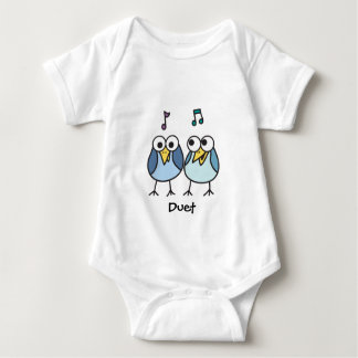Boy Baby Byrdies Duet Baby Bodysuit