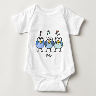 Boy Baby Byrdies Trio Shirts