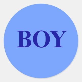 Boy - Baby Gender Reveal Party Game Sticker