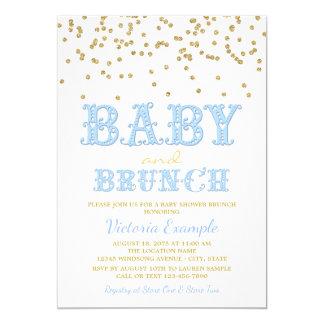 boy baby shower brunch baby shower invitations