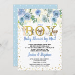 Boy Baby Shower By Mail Pandemic Woodland Animals Invitation