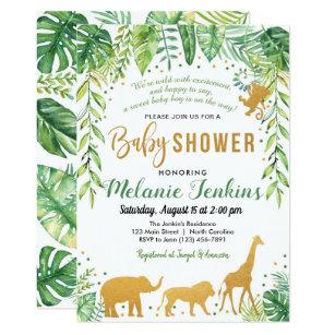 Zoo Girl Birthday Invitation Printable Party Sweet Safari