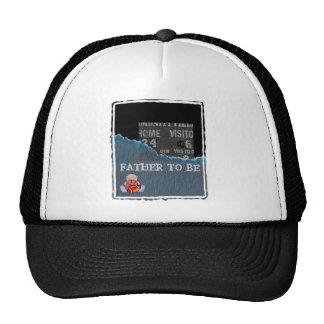 Boy-baby shower trucker hat