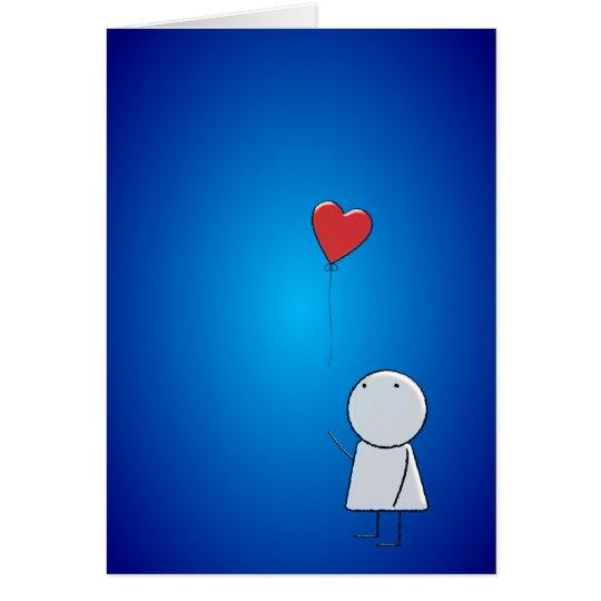 Boy & Balloon Card
