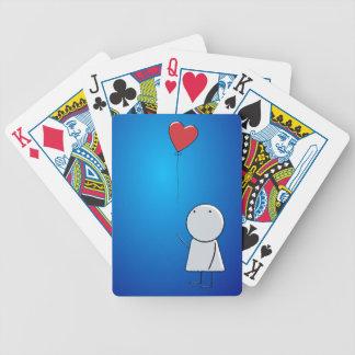 Boy & Balloon Deck Of Cards