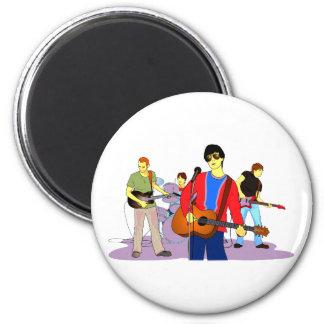 Boy Band Graphic Image Fridge Magnet