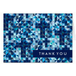 Boy Baptism First Communion Confirmation Thank You Card