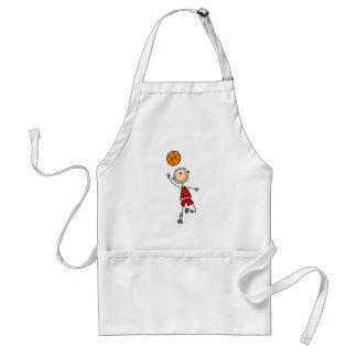 Boy Basketball Player Tshirts and Gifts Adult Apron