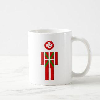 Boy Basque Euskadi flag Mugs