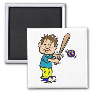 Boy Batter Magnet