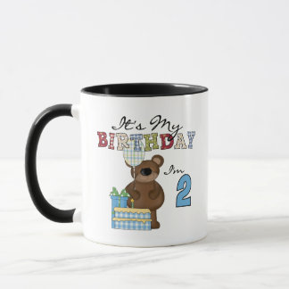 Boy Bear 2nd Birthday T-shirts and Gifts Mug