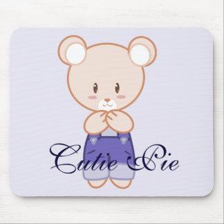 Boy Bear Mouse Pad