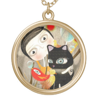 Boy Bird kitten Jewelry