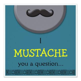 Boy Birthday - I Mustache you Card