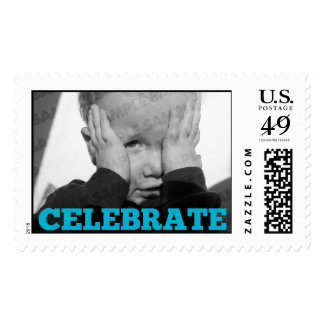 Boy Birthday Party Photo Stamps