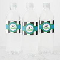 Boy Birthday Party Water Bottle Labels