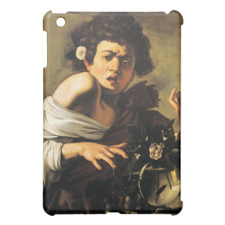 Boy Bitten by a Lizard, Caravaggio iPad Mini Covers