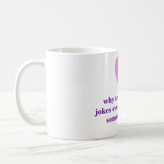 Boy Blonde Joke Shortage Mug