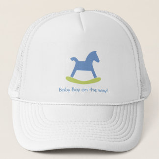 Boy Blue and Yellow Rocking Horse Cap