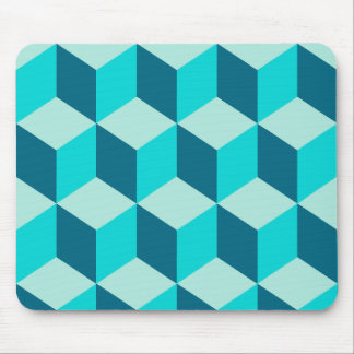 Boy Blue Building Blocks Seamless Pattern Mouse Pad