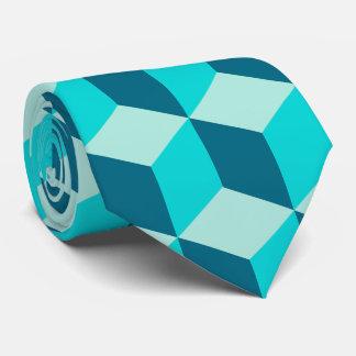 Boy Blue Building Blocks Seamless Pattern Neck Tie