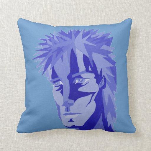 Throw Pillows Lagos : Boy Blue Throw Pillow Zazzle
