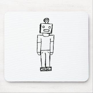 Boy Bot Mouse Pad