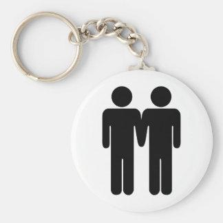 Boy + Boy Keychain