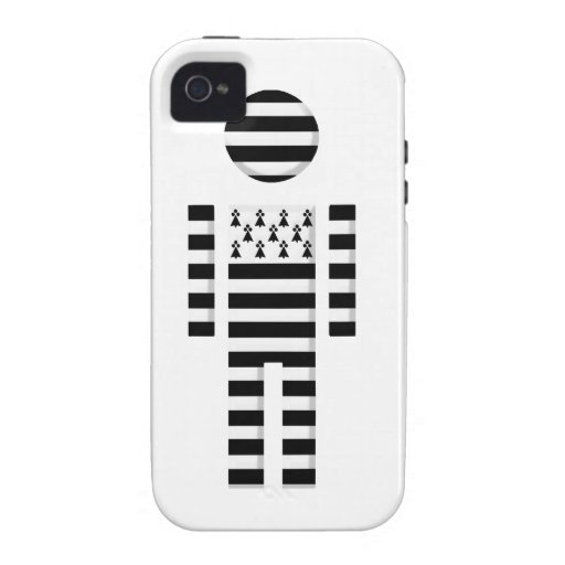 boy Brittany Finistere Morbihan flag Case For The iPhone 4