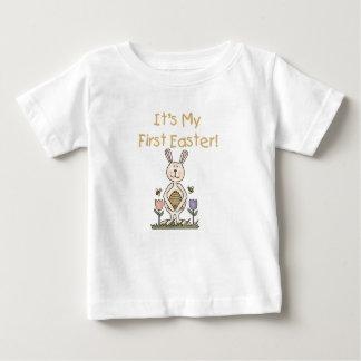 Boy Bunny First Easter Tshirt