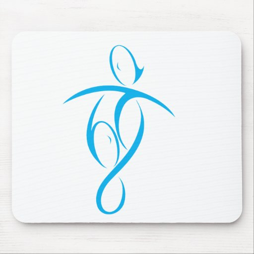 Boy Carry Girl Mouse Pad