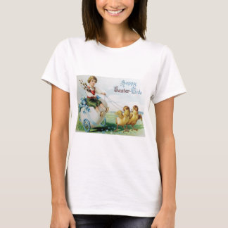 Boy Chariot Forget Me Not Easter Chick T-Shirt