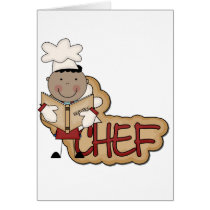 Boy Chef - African American Tshirts and Gifts Card