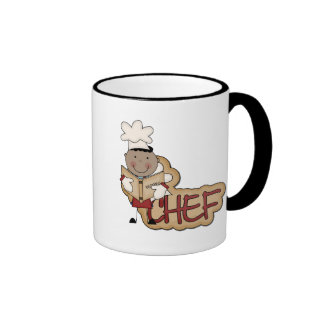 Boy Chef - African American Tshirts and Gifts Mugs