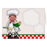 Boy Chef Card