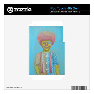 Boy Clown iPod Touch 4G Decals