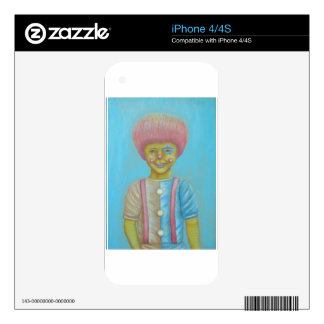 Boy Clown Skins For The iPhone 4