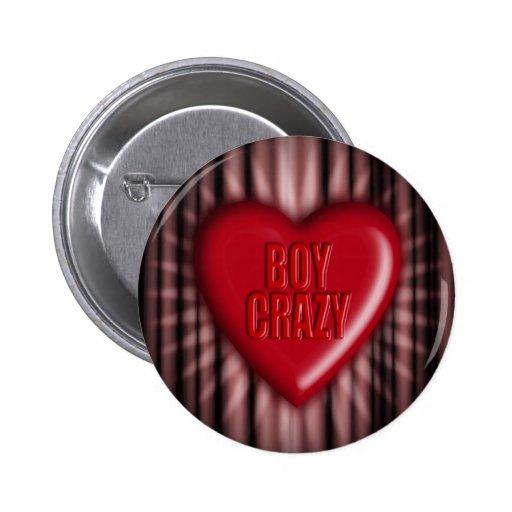 Boy Crazy Pin