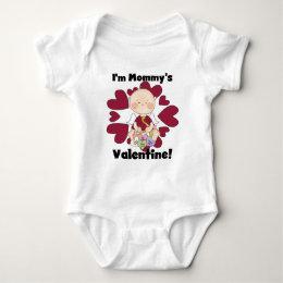 Boy Cupid Mommy's Valentine Tshirts