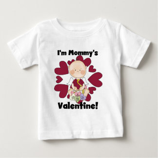 Boy Cupid Mommy's Valentine Tshirts